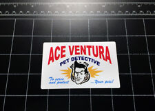 Ace Ventura Pet Detective vinyl decal sticker 90s comedy movie pop culture