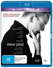 Steve Jobs Blu-Ray : NEW