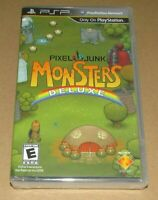 PixelJunk Monsters Deluxe (Sony PSP) Brand New / Fast Shipping