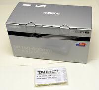 TAMRON 150-600mm SP F5-5.6 Di VC USD CANON MOUNT empty lens box FREE SHIPPING