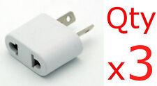 Australia / New Zealand Adapter 3pk - EU US to AU NZ China Plug Converter