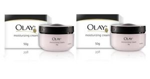 Olay Moisturizing Skin Cream, 50g (pack of 2) free shipping world