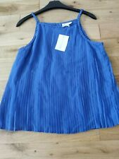 Tammy Girl Cobalt Blue Chiffon Party top New Age 12-13 Years