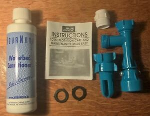 Waterbed Draining and Filling Pump Set and Conditioner - FREE POSTAGE