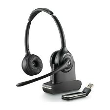 Plantronics Savi W420-M Binaural Wireless For PC With USB Connection 84008-02