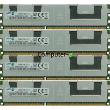 Samsung 128GB KIT 4X32GB PC3-14900L DDR3-1866MZH 240Pin Server LRDIMM MEMORY RAM