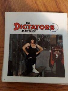 """THE DICTATORS  """"GO GIRL CRAZY"""" SQUARE STICKER"""