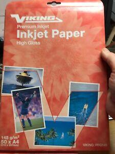 Premium Glossy High Gloss Photo Paper A4 Inkjet Printer