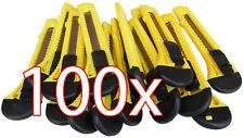 100 X Cuttermesser 18 mm Universal Cutter Teppichmesser Paketmesser