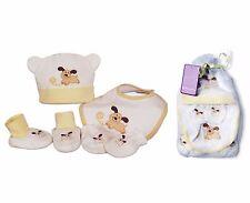 Coffret Cadeau naissance bébé bonnet bavoir chaussons gant Baby-Bow thème Chien