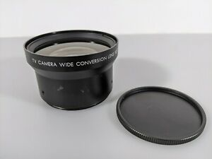 TV Camera Wide Conversion Lens X0.7 - Made In Japan EUC