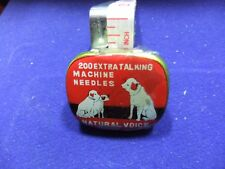 vtg needle tin natural voice 200 extra talking machine needle gramophone record