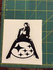 Subaru Woman Decal Sticker