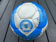 More details for peterborough united  - hand signed football - many signatures -vgc