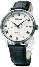Seiko Presage Automatic Leather Strap Men's Watch SRPC83J1