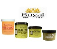 Royal 100% /Beeswax /Dax Black Bees /Hair Food /Indian Hemp-Full Range