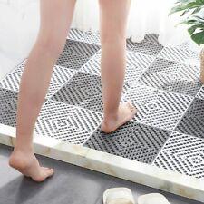 1PC Bath Tub Shower Mat Living Room Kitchen Toilet Floor Rug Non-slip Pure Color