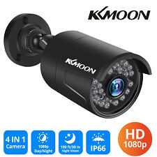 KKMOON 1080P AHD Security Camera CCTV Outdoor Home IR-CUT Night Vision NTSC O5X2