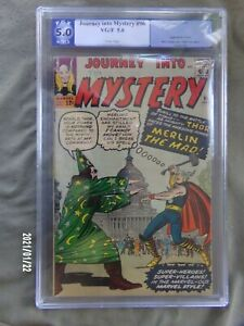 JOURNEY INTO MYSTERY #96 PGX 5.0 Early Thor