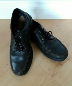 Lovely Hotter Trafalgar Brown Leather Lace Up Men's Shoes - Size 7.5 - Great!