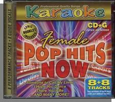 Karaoke CD+G - Female Pop Hits Now - New 8 Song CD! Bootylicious, Hope You Dance