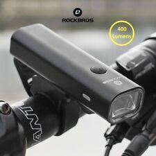 ROCKBROS Bike Light Rainproof USB Rechargeable LED 2000mAh MTB Front Lamp