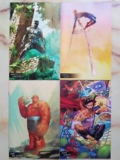 YOUNG GUNS 2018 VARIANTS SPIDER-MAN BLACK PANTHER DR STRANGE MARVEL 2 IN ONE LOT