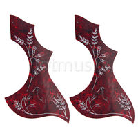 2 Acoustic Guitar Pickguard Adhesive Hummingbird for Guitar Parts Replacement