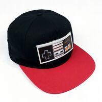 NWOT NES Nintendo Controller Original Snapback Hat Black and Red OSFM RN #115665