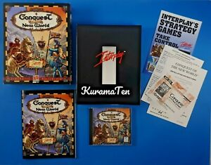 Conquest Of The New World  PC CD ROM Strategy Game 1996 Interplay
