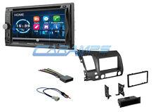 NEW 06-11 CIVIC POWER ACOUSTIK STEREO RADIO W DASH KIT BLUETOOTH & AUX/USB INPUT