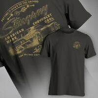 Corvette American Made Chevrolet Cool Stingray Charcoal Men's T Shirt 604584