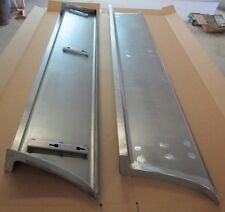 "new 1949 2"" Wider Chevy/GMC Street Truck 1/2 ton Smooth Steel 16g Running Boards"