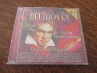 album 2 cd LUDWIG VAN BEETHOVEN les plus grandes oeuvres