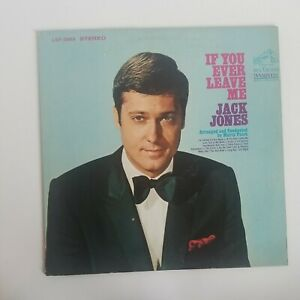 Vinyl Record LP Album JACK JONES IF YOU EVER LEAVE ME 1968 VG/VG