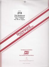 Showgard Long Clear Stamp Mount Strips 215 264 mm US Sheets Artic Animals Ballet