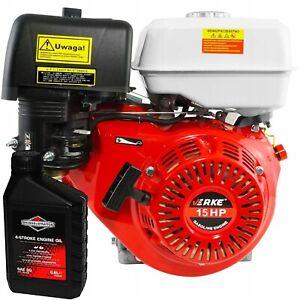 15PS Benzinmotor Standmotor 423 cc Kart Motor 25,4mm Motor 4-Takt