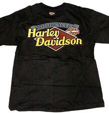 Harley Davidson T Shirt Size Medium Moroney's New York Black Short Sleeve