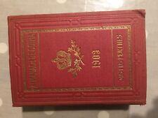 ALMANACH de Gotha 1903 Noblesse Genealogie Justus Perthes