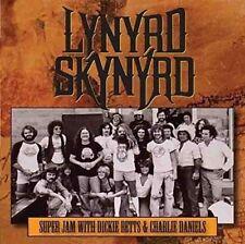LYNYRD SKYNYRD – SUPER JAM 1978 Wt DICKIE BETTS & CHARLIE DANIELS (NEW) CD Live