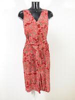 ISABEL DE PEDRO Damen Wickel Kleid Gr 38 DE Mehrfarbig & Neuwertig ( R 0868 R )