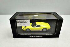 1:43..Minichamps--Lamborghini Miura 1966 yellow 430103005 in OVP / 4 B 498