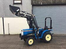 Used Mitsubishi Compact Tractor & Loader Suit smallholder (price Inc VAT)