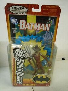 DC SUPERHEROES - SCARECROW WITH COMIC MATTEL 2005 - NEW