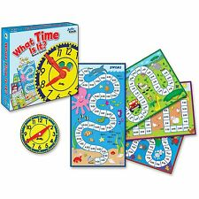 Carson-Dellosa 4-in-1 Board Game What Time is it Grade 2 113/pcs 140314