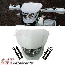 Enduro Headlight Lead Light Lamp Fairing Shield For Yamaha TTR250 TTR230 WR250F
