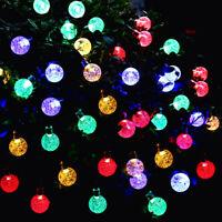 39FT Solar Power 100 LED String Light Outdoor Garden Waterproof Wedding Lights