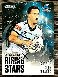 2021 NRL TRADERS '2020 RISING STARS' TRADING CARD - CONNOR TRACEY/SHARKS