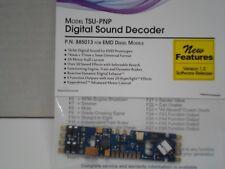 Soundtraxx Tsunami 2 DCC sound decoder for EMD/plug and play ver 1.2