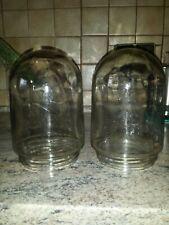 2×Bauhaus Glaskolben Ersatzglas für große  Glaskolbenlampe